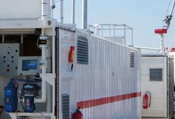 station mobile de carburant